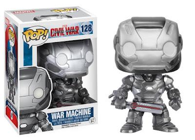 TOYS : JUGUETES - FUNKO POP  Capitan America 3 Civil War  War Machine | Figura de Vinilo  Nueva Película 2016 | Captain America  Comprar en Amazon España & buy Amazon USA