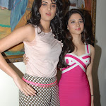 Tamanna Bhatia and Deeksha Seth Hot At The 'Rebel' Movie Trailer Launch