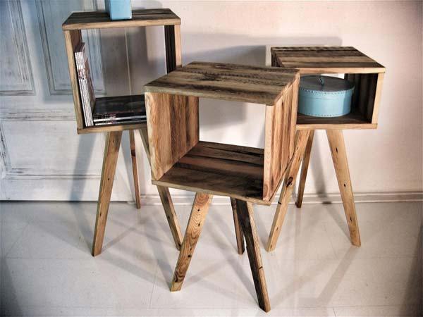 mobiliario, madera, reciclaje, sostenible