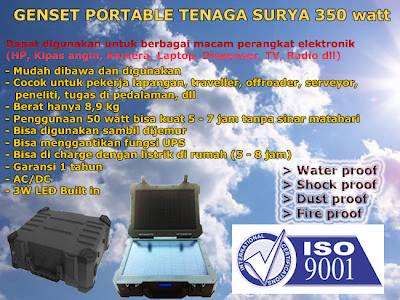 reseller genset portable tenaga surya