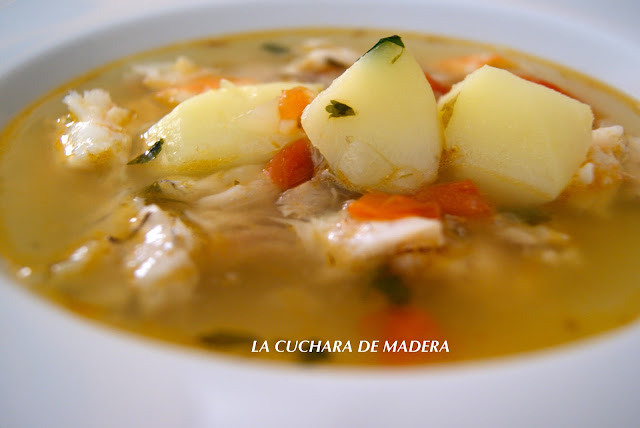 Sopa De Pescado Canario