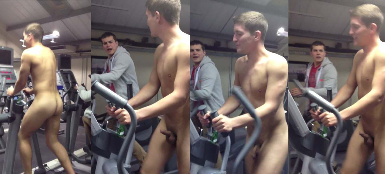 naked college guys in gym