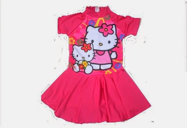 Model Baju Renang Anak Hello Kitty