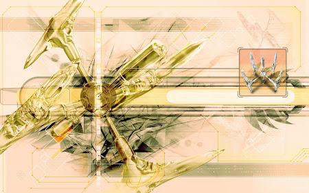 grafik komputer, abstrak