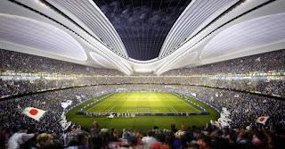 Estadio Nacional de Japón Zaha Hadid