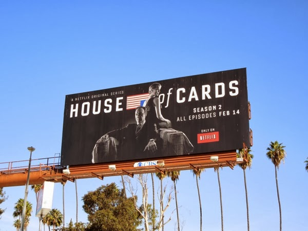 House of Cards season 2 billboard