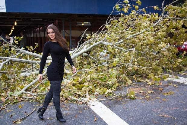 imagens, nana gouvea, furacão sandy, humor, nana gouvea registra em fotos estragos do furacão sandy em nova york, eu adoro morar na internet
