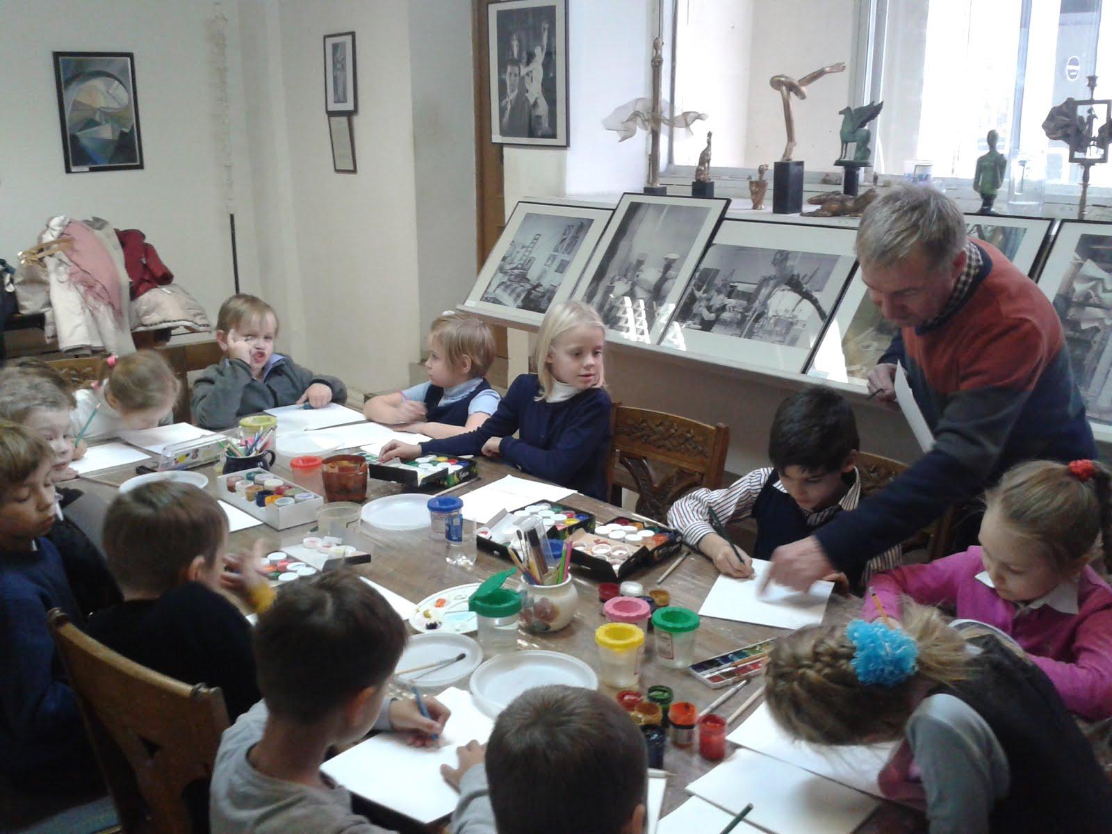Мастер-класс по живописи в музее А.Н.Бурганова