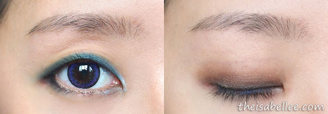 Combining different Elianto Long Wear Eyeshadow Stick colours