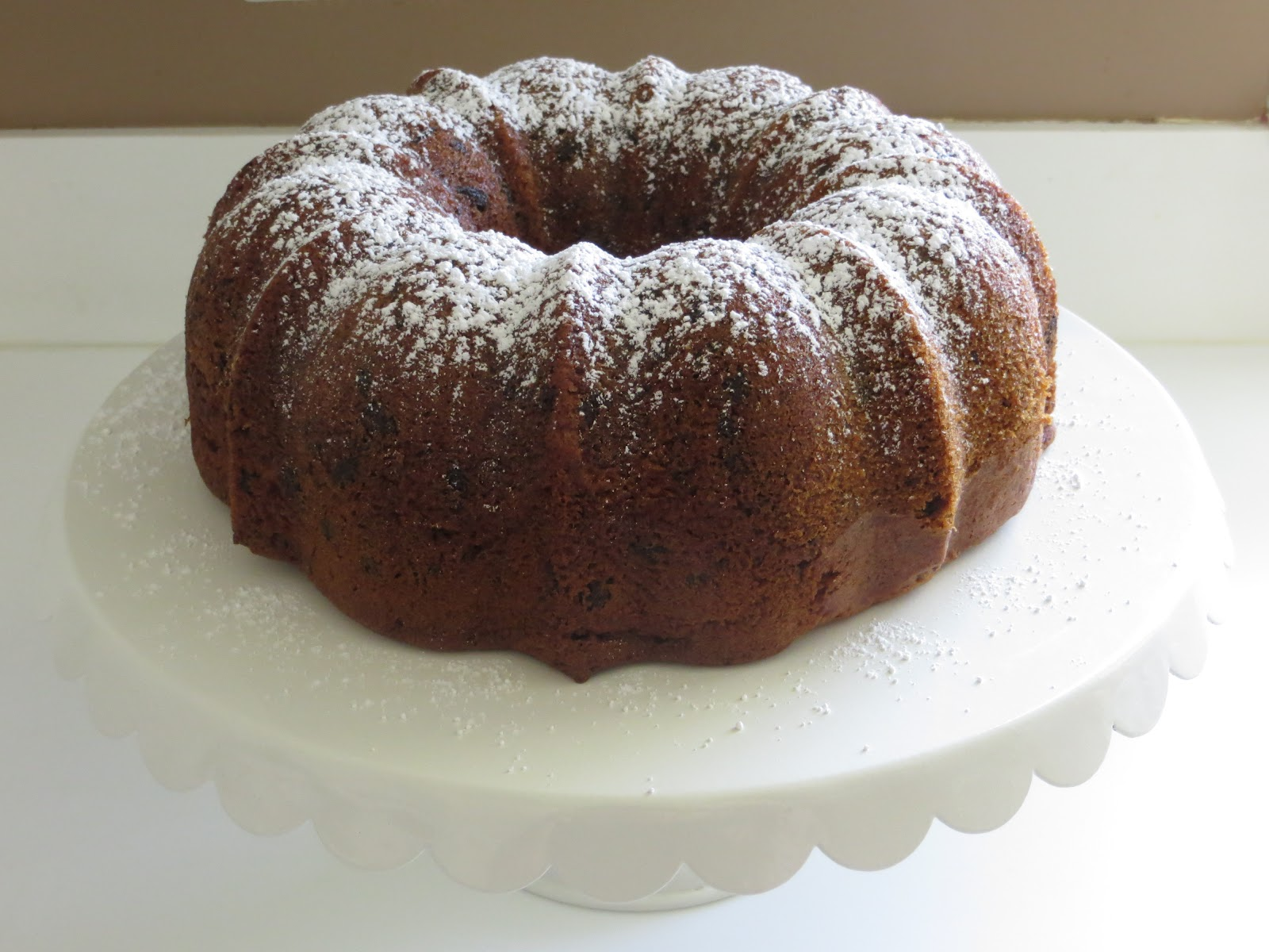 Yellow Bundt Cake With Chocolate Chips