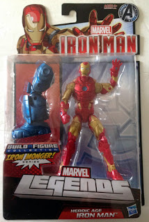 Hasbro Marvel Legends Iron Man - Heroic Age Iron Man in Package - front