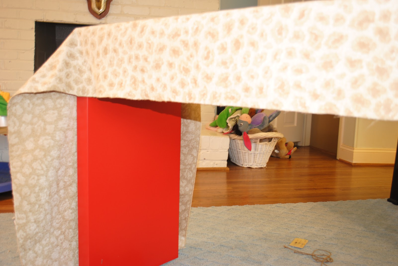 Matters Of Style Ikea Hack Diy Upholstered Malm Console Table