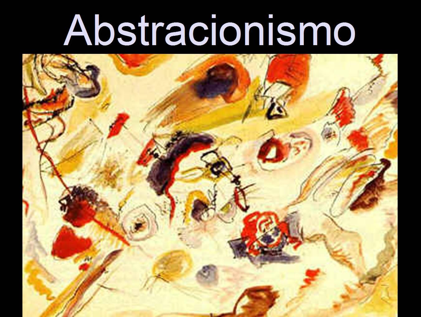 Abstracionismo na pintura