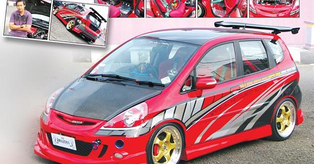 Mobil Motor Modification: Modifikasi Honda Jazz Racing Look