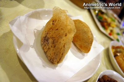 Deep Fried Taro Puff and Deep Fried Ham Shui Kok at Passion Restaurant in Maxims Hotel, Resorts World Manila
