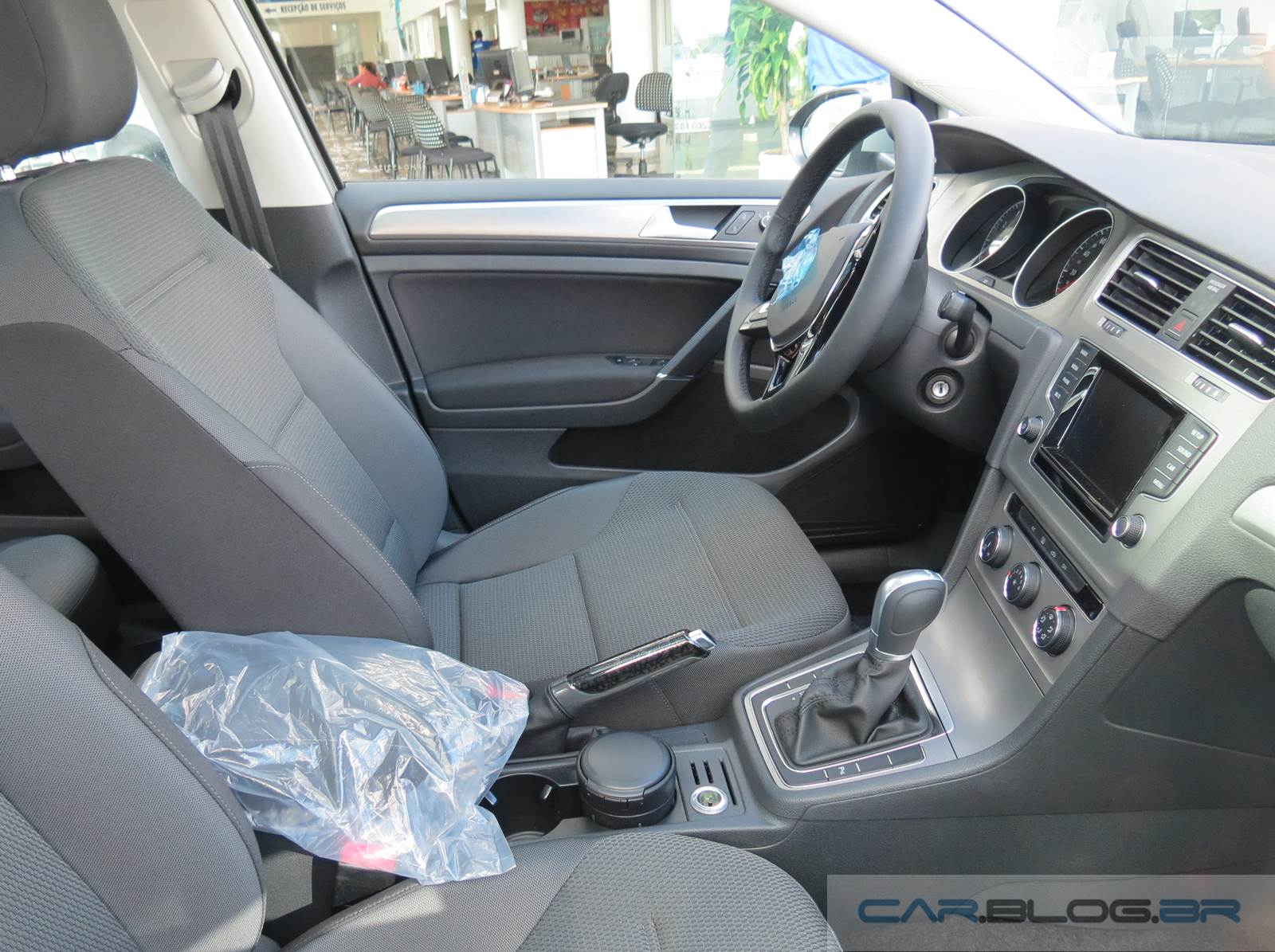 VW Golf 2015 Comfortline mexicano - interior
