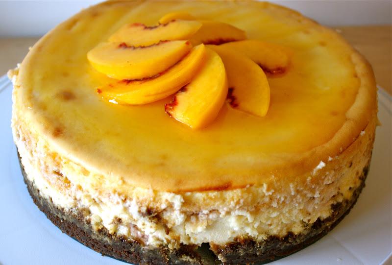 Auntie Caitlin's Creations: Peach Cheesecake