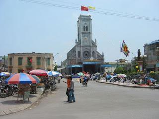 Cathédrale Hai Phong (Vietnam)