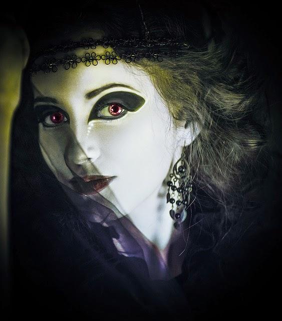 Ghost Girl: Public Domain Image