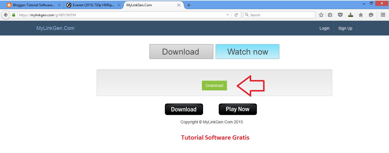 Cara Download Film di Ganool Sekali Tiup   Tutorial Software