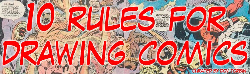 10 Rules for Drawing Comics