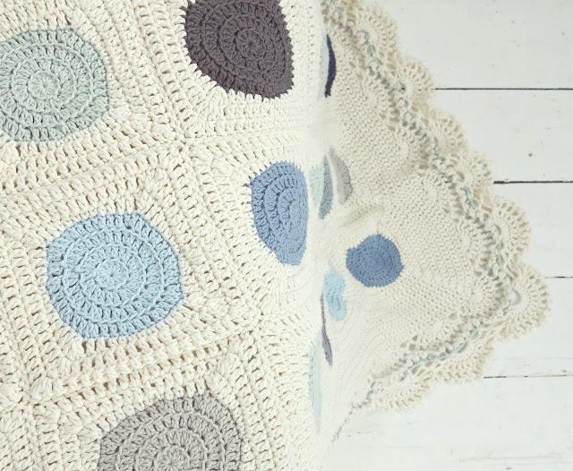 byHaafner, crochet, ganchillo, blanket, Dainty Dots,