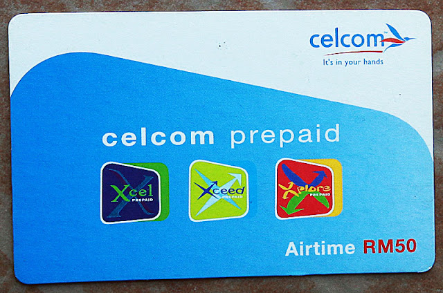 Kad telefon pra-bayar Celcom