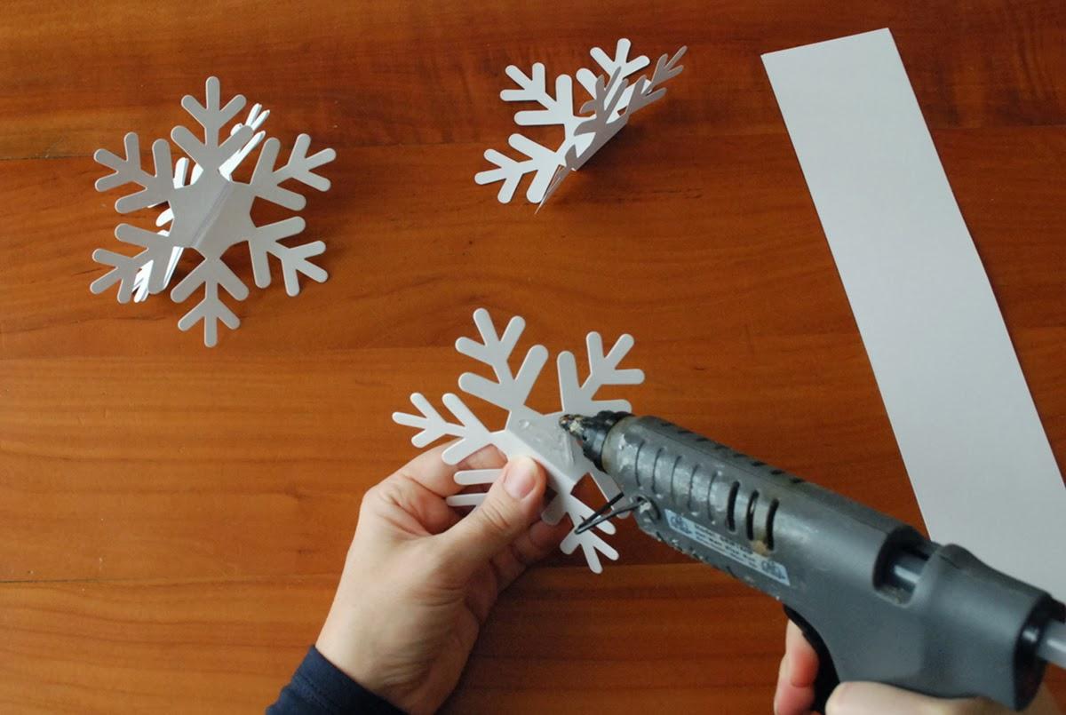 Fiocchi Di Neve Di Carta Tutorial : Incartesimi fiocchi di neve di carta addobbi natalizi a prova di