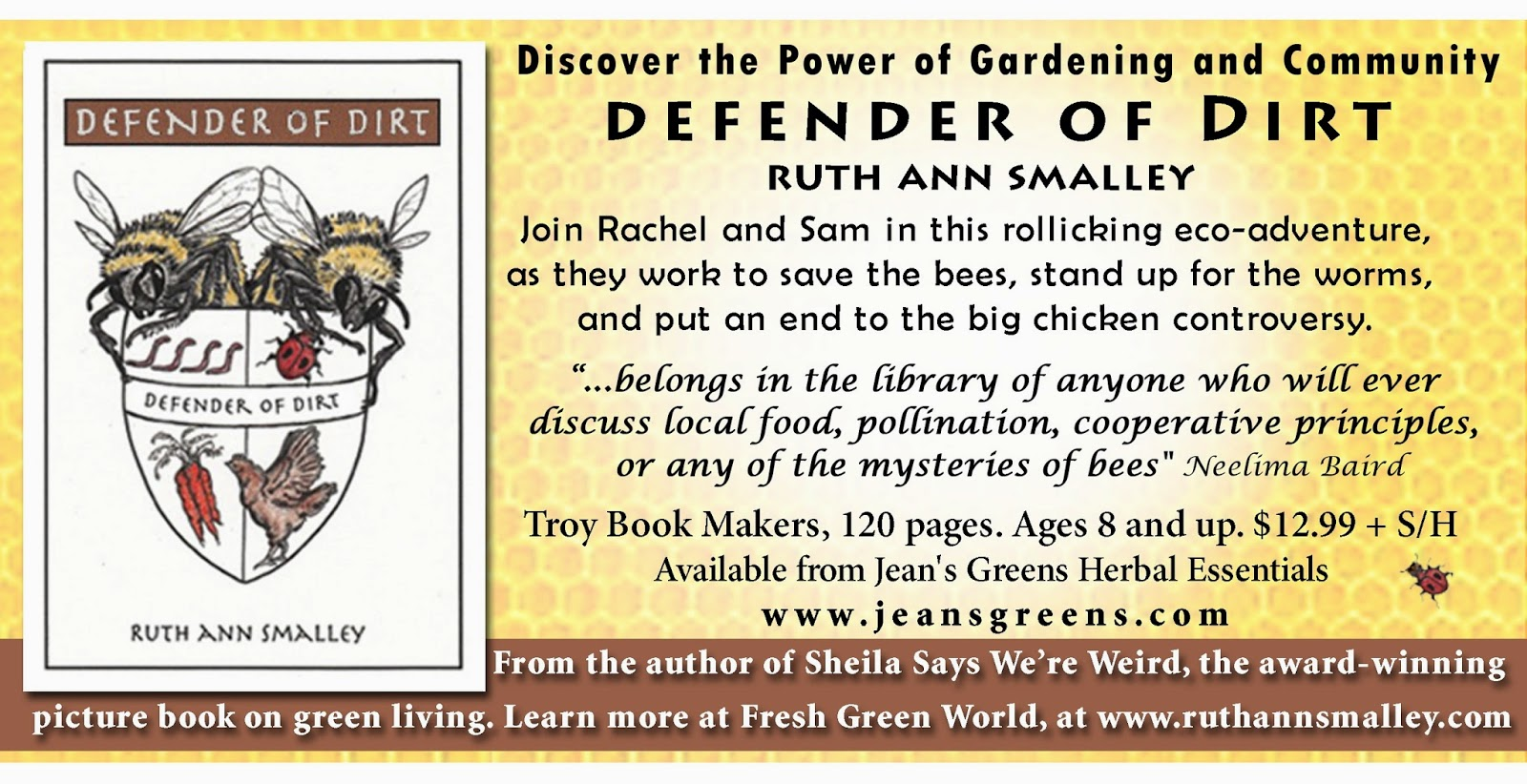 http://www.jeansgreens.com/shopping/books.htm#other