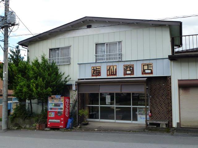東武日光線 上今市駅 常備軟券乗車券 梅仙商店