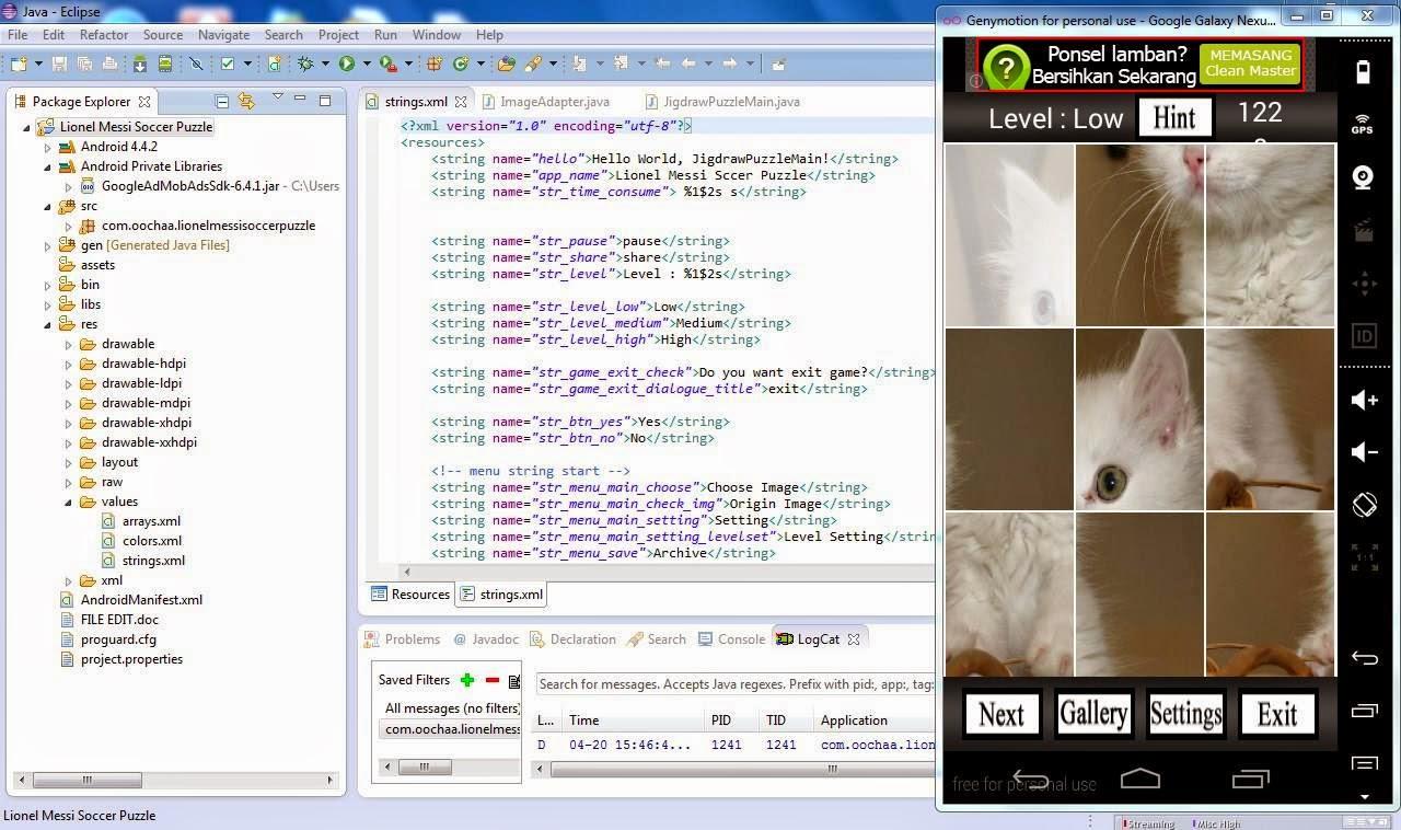 ADMOB1 Membuat Aplikasi dan Games Android Dengan Sangat Mudah