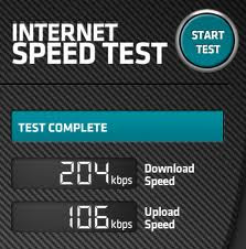 Speedtest-adsl-internet