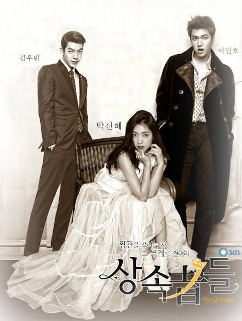 cover poster - korea terbaru heirs, kisahromance