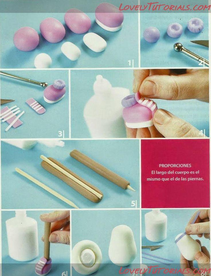 Cake Design Passo A Passo : cantinho criativo: passo a passo doutora brinquedo em biscuit