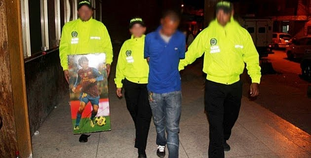 En Colombia utilizan a Messi para transportar droga
