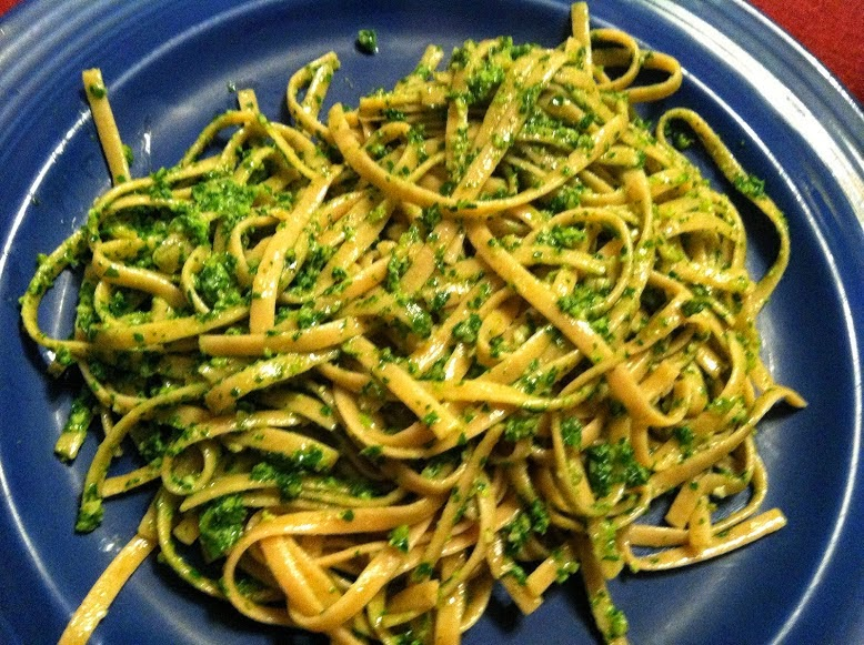 Picpoul de Pinet is a good pairing for a plate of pasta with pesto