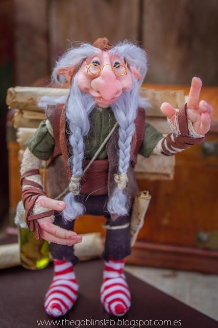old wise magical creature fantasy elf