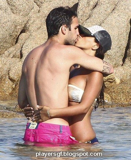 cesc fabregas and his hot girlfriend