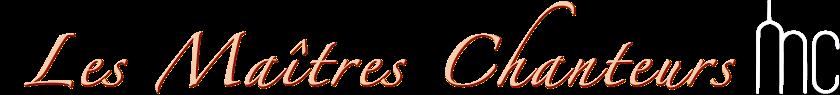 Les maîtres chanteurs - Chorale du Barreau de Paris