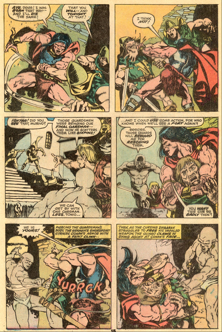Conan the Barbarian (1970) Issue #57 #69 - English 10