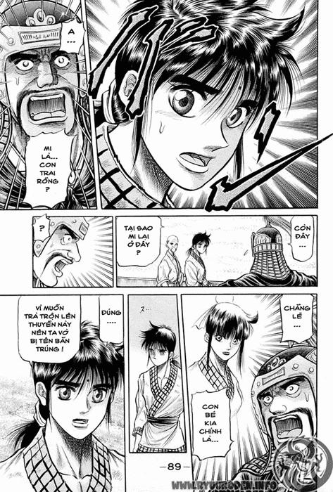 Chú bé rồng-Ryuuroden chap 37 Trang 36 - Mangak.info