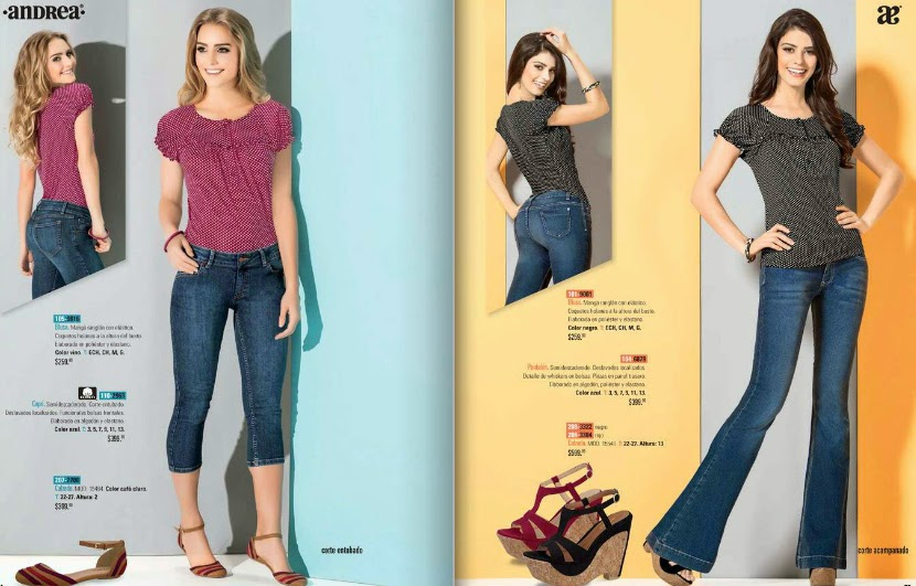 Catalogo digital ropa Andrea 2015