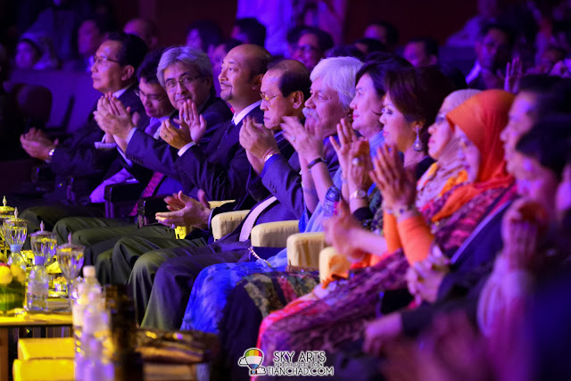 VIPs enjoying the show @ George Benson Live In KL Inspiration Tour