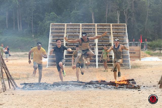 fire jump spartan race malaysia sprint kl