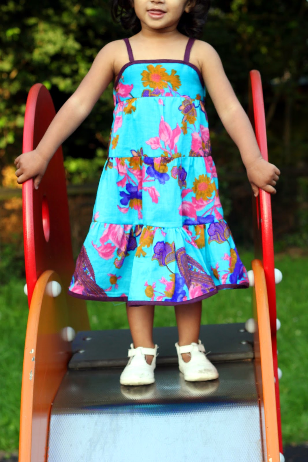 Little girl Tiered summer dress