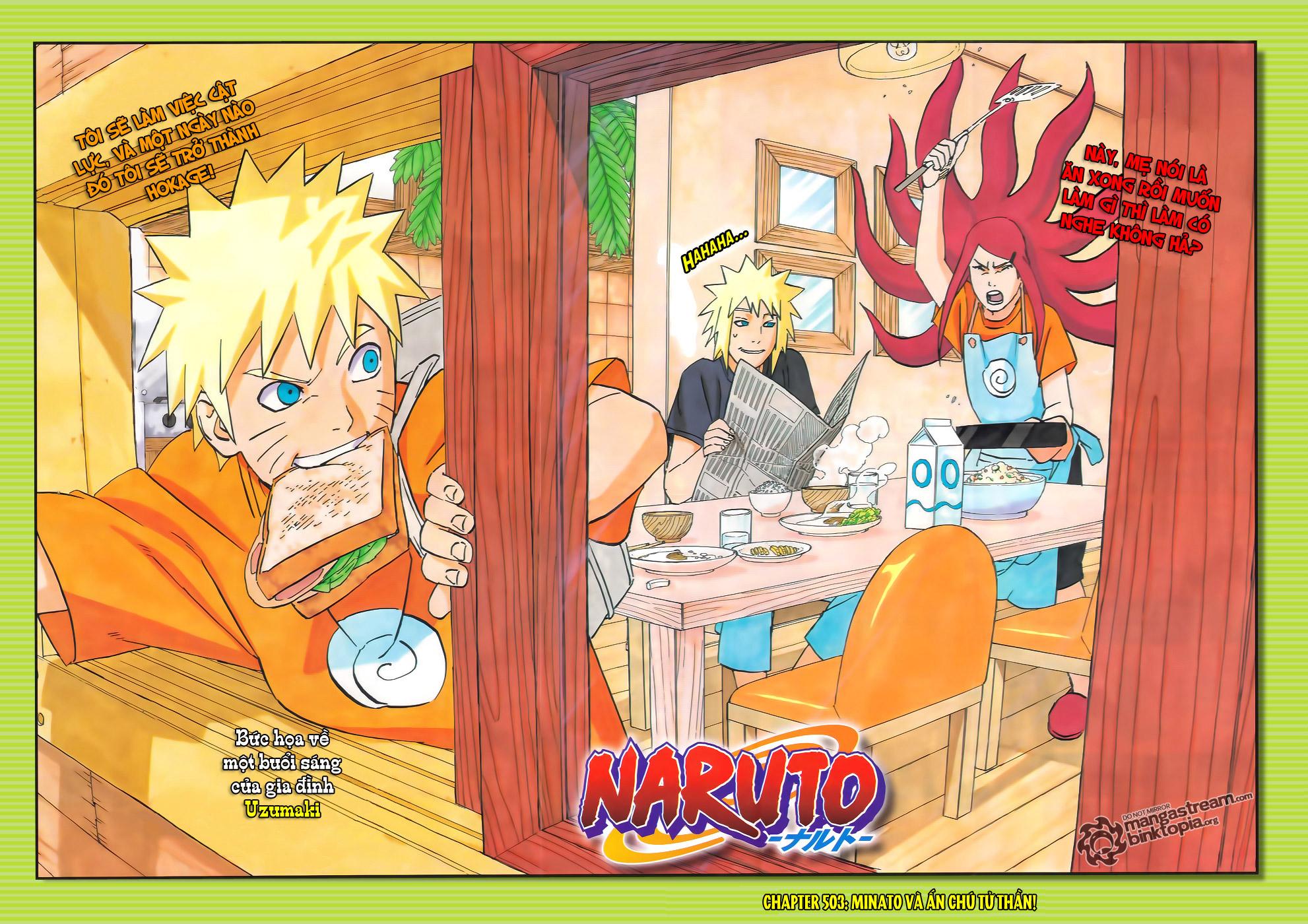 Naruto chap 503 Trang 2 - Mangak.info