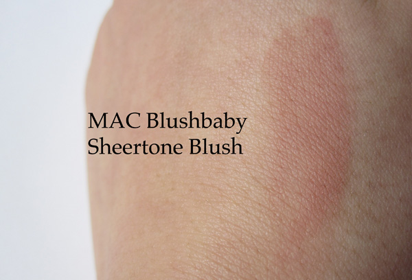 MAC Sheertone Blush in Blushbaby | We Were Raised By Wolves