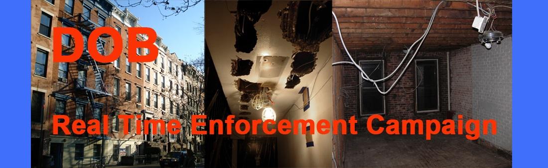 DOB Real Time Enforcement Campaign