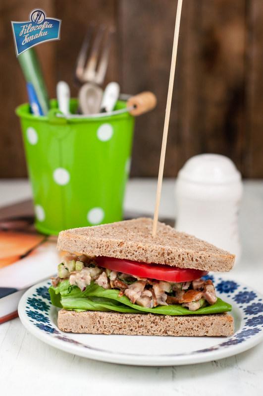 Przepis na sandwich z sałatką
