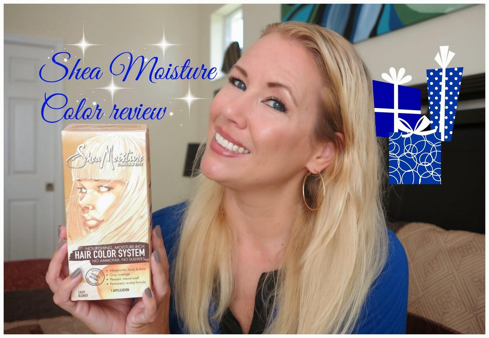 Shea Moisture Hair Color Review Light Blonde